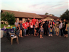 NNO 2015 - 100 Ivanhoe - Group Picture with Officer Jason Stone