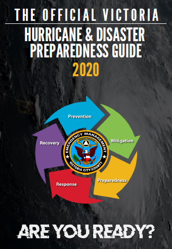 The Official Victoria Hurricane & Disaster Preparedness Guide 2020 Cover Click to open a PDF Version