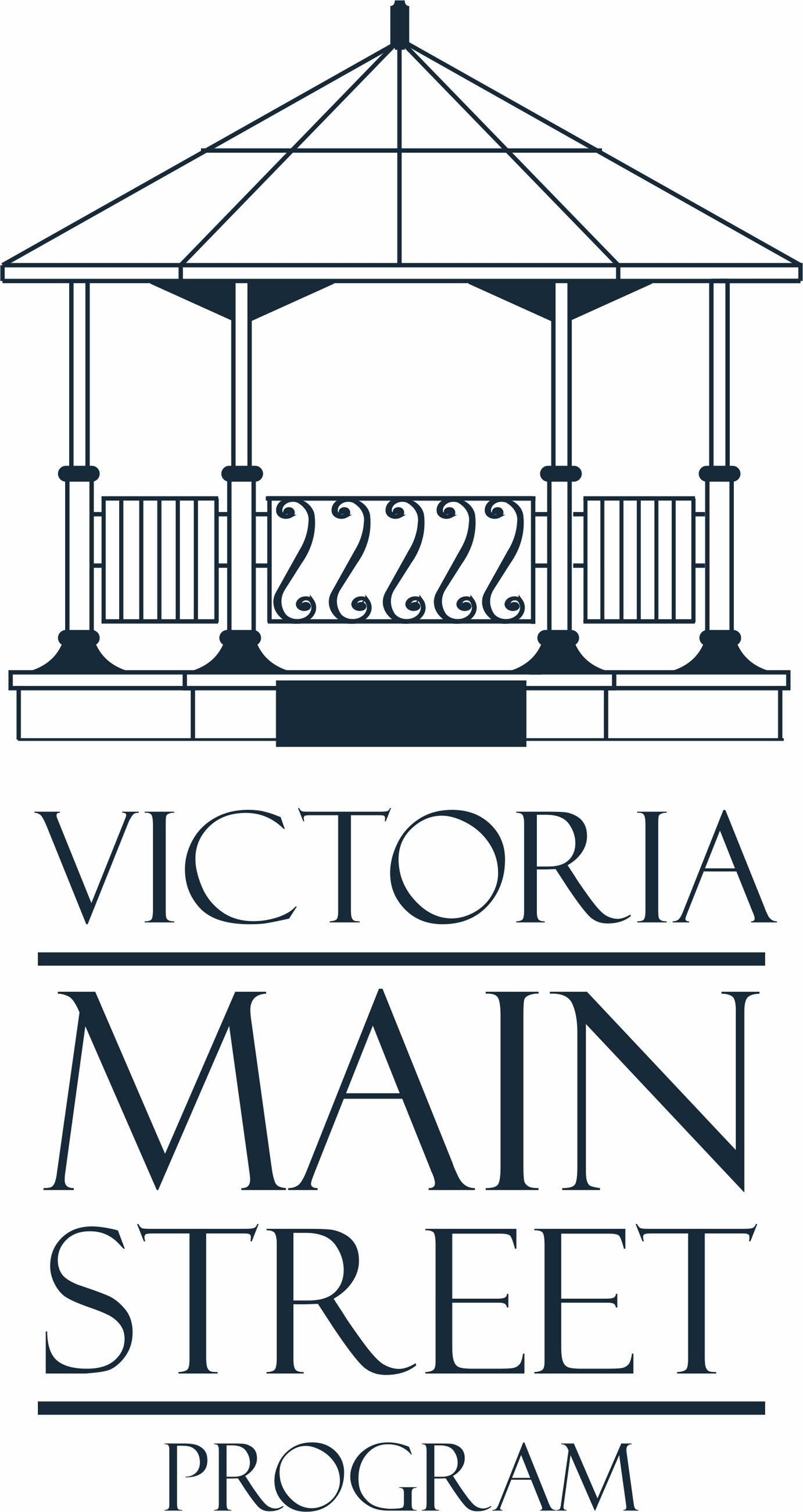 Victoria Main Street Program logo