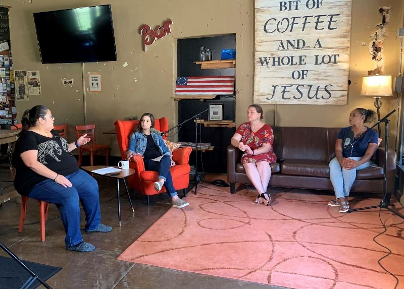 Complete Count Committee members discuss the 2020 Census at Liberty Coffee Haus