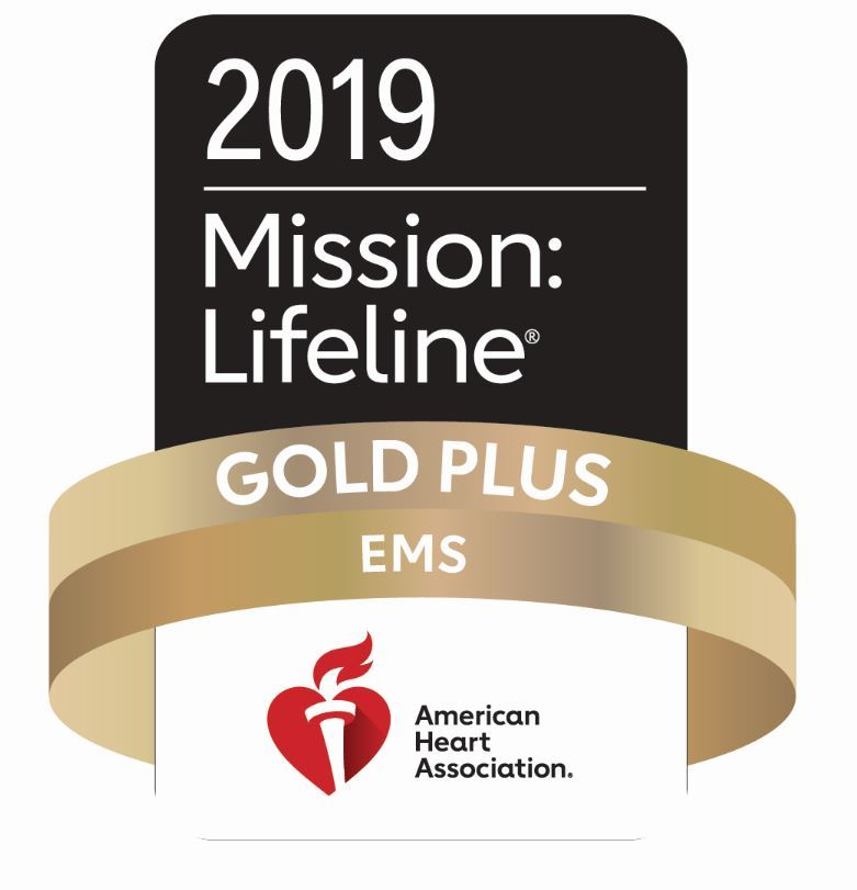 2019 Mission Lifeline Gold Plus EMS